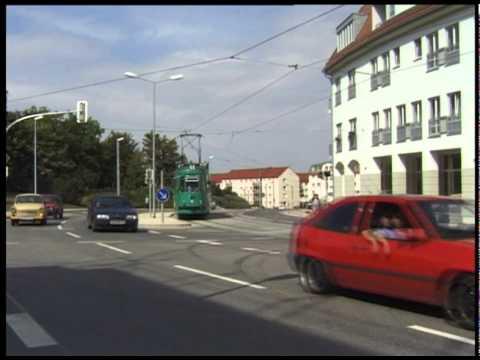 HALBERSTADT TRAMS AUGUST 1998