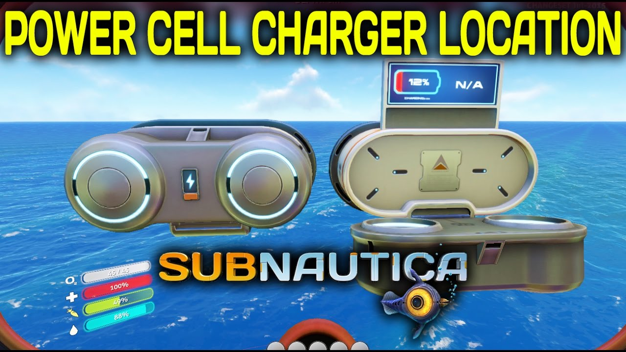 Where Is The Power Cell Charger Subnautica Youtube