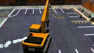 Repeat youtube video Catterpillar CAT Bagger Excavator (Action Baustelle)