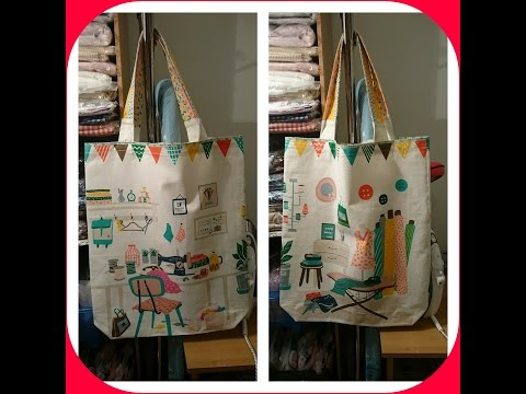 Sewing Tote bag  (May túi Tote)
