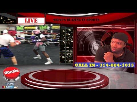 (OOWEEE!) Floyd Mayweather LEAKS SPARRING CLIP, FIGHTER TALKS RECKLESS - PLUS BRONER VS VARGAS