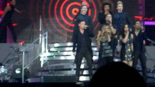 X Factor Finalists - I Gotta Feeling - X Factor Tour - Belfast 18/3/2010 Thumbnail