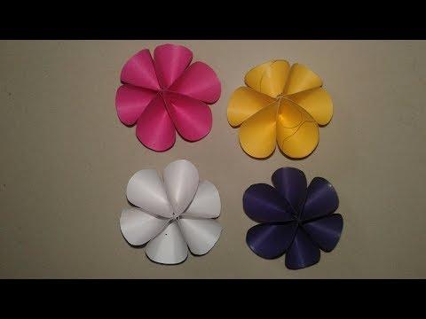 DIY Paper Craft | How to make Beautiful Paper Craft | Paper Flower Craft |Flower Ideas