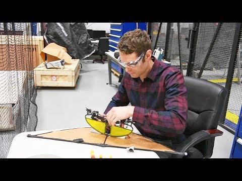 Unique experimental drone transforms in flight