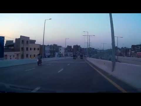 Driving In Pakistan 6 - Azadi Chowk Interchange, Lahore (9th October 2014)