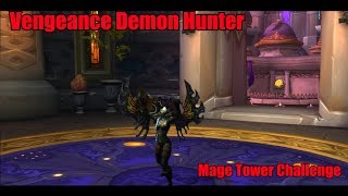 Mage Tower Tank Challenge : Vengeance Demon Hunter 907 ilvl