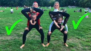 Download EXTREME Yoga Challenge with Elliana & Lilliana from DANCEMOMS!!! Mp3 and Videos