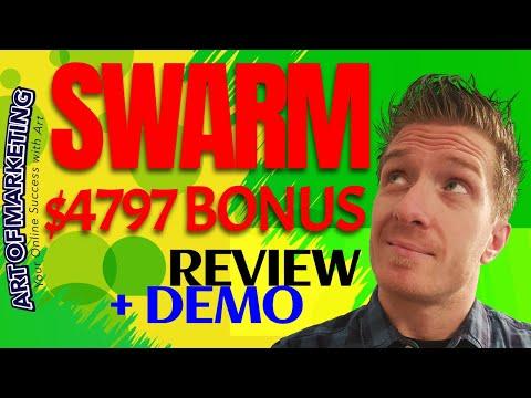 Swarm Review ✅Demo✅$4797 Bonus✅ Swarm Software Review ✅✅✅