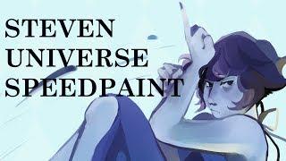 (STEVEN UNIVERSE SPEEDPAINT) LAPIS REDRAW
