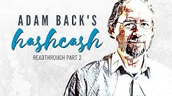 Adam Back's Hashcash Readthrough Part 2