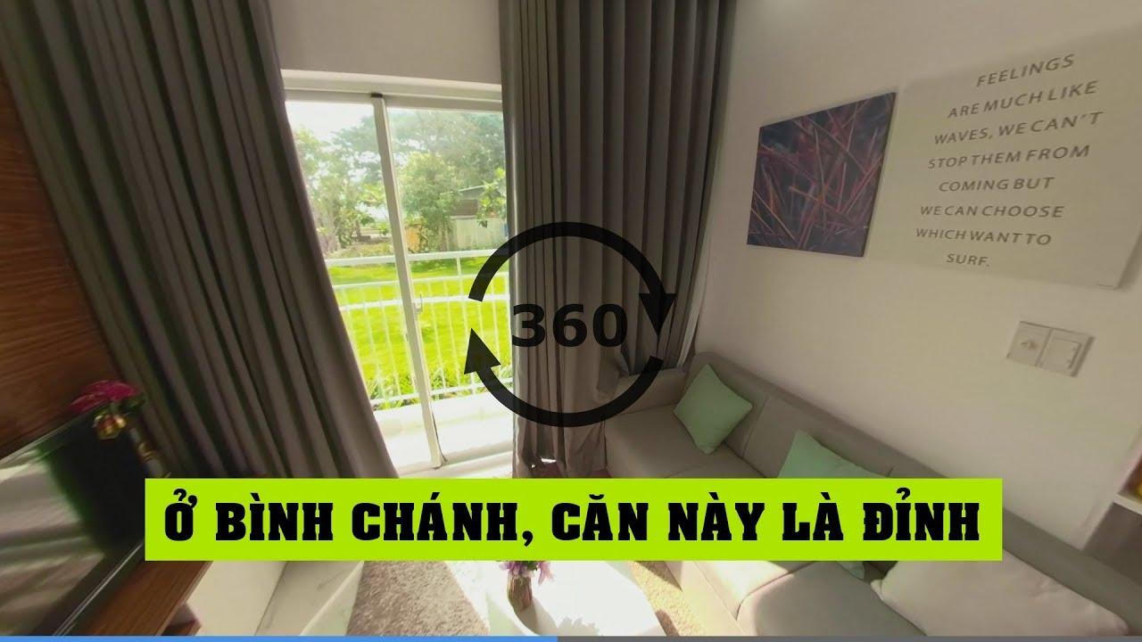 Nhà mẫu căn hộ Conic Riverside 49m2 1+1 phòng ngủ Quận 8 – Land Go 360 ✔
