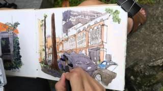 Purvis Street Sketch Timelapse