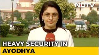 Chief Justice Ranjan Gogoi Meets UP Officials Ahead Of Ayodhya Verdict