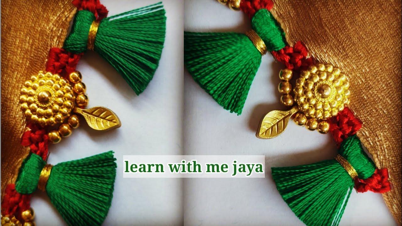 ಸೀರೆ ಕುಚ್ಚು# 132. #bridal #Sareekuchu videos  for beginners .learn #withme jaya