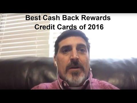 Best Cash Back Rewards Credit Cards for 2016