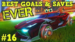 Rocket League Montage: BEST GOALS & SAVES EVER #16 - Freestyle goals, epic plays & more [HD]