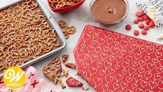 How to Make Valentine's Day Pretzel Candy Bark | Wilton