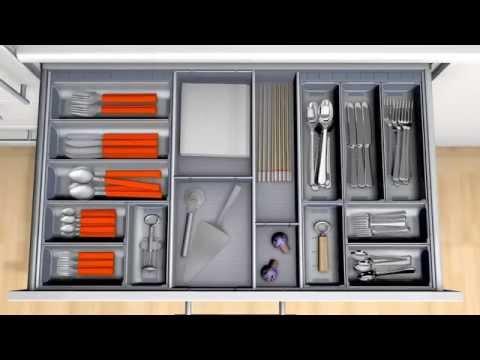 Cubertero de acero inoxidable orga line para cocina youtube for Accesorios para cocina en acero inoxidable