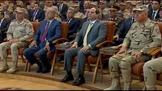 بالفيديو| الدفاع تنشر فيديو عن افتتاح الرئيس لأعمال تطوير