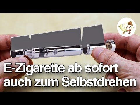 E-Zigarette ab sofort auch zum Selbstdrehen [Postillon24]