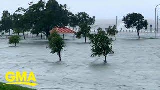 Tropical Storm Cristobal slams into Gulf Coast l GMA