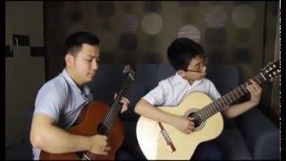 HƯỚNG VỀ... Hà Tĩnh mình thương - Guitar thầy & trò Văn Anh - Đức Minh