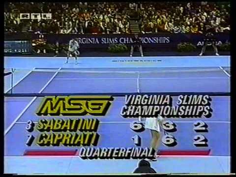 Gabriela Sabatini v Jennifer Capriati WTA 1992 pt3
