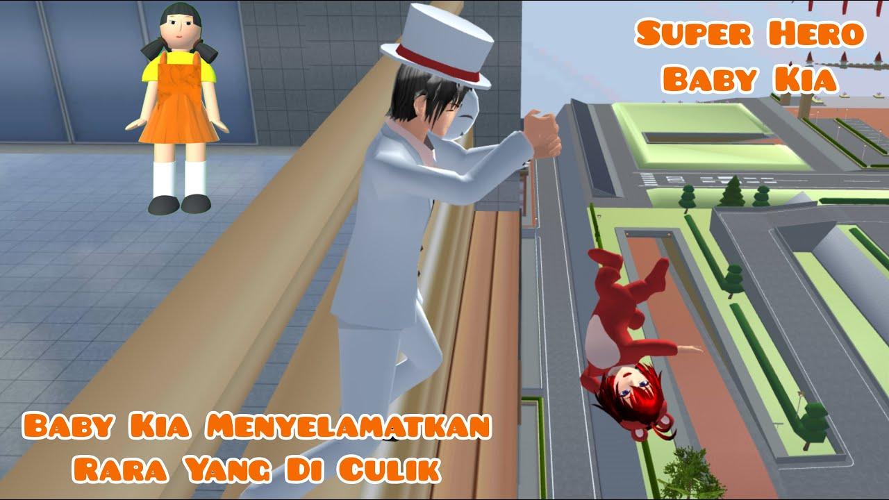 Super Hero Baby Kia | Menyelamatkan Baby Rara Yang Di Culik | Drama Sakura School Simulator
