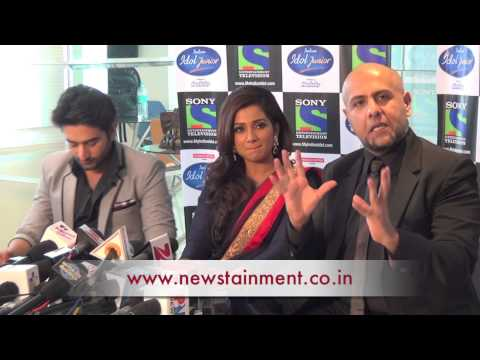 Shreya Vishal Shekhar Promote Indian Idol Junior