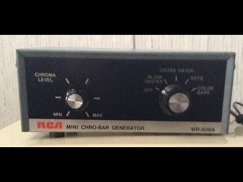Repair of an RCA Mini Chiro Bar generator