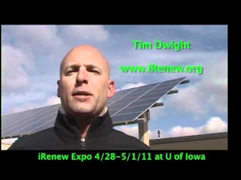 Tim Dwight 2011 I-Renew Expo ad