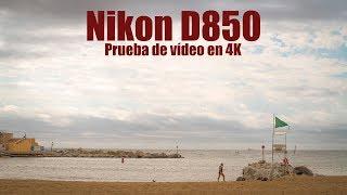 Nikon D850: prueba de vídeo en 4K