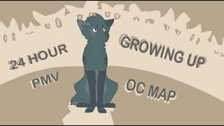 Growing Up 24 Hour PMV OC MAP (Complete)