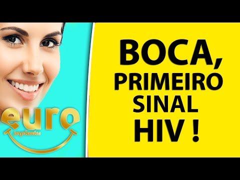 BOCA, PRIMEIRO SINAL - HIV, FIQUE DE OLHO!!