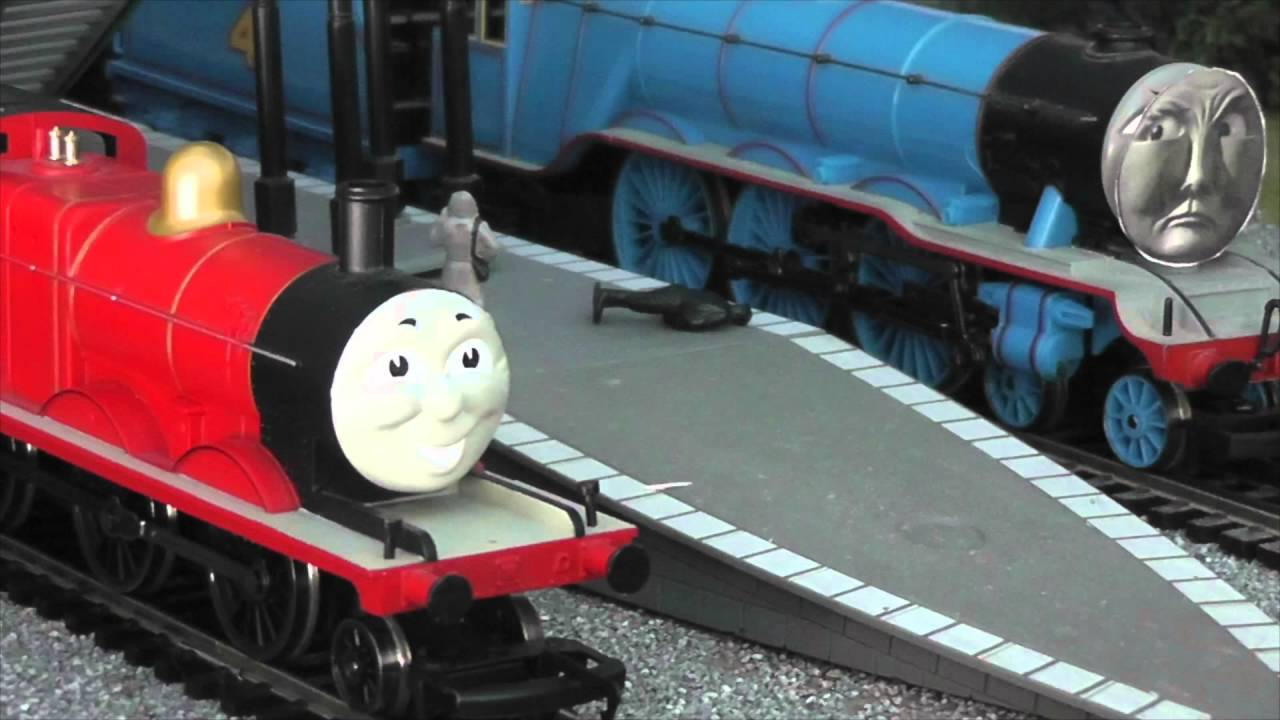 HORNBY/BACHMANN A Proud Day For James US GC - YouTube