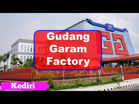 Gudang Garam, The Famous Cigarette Factory in Indonesia, Kediri - East Java