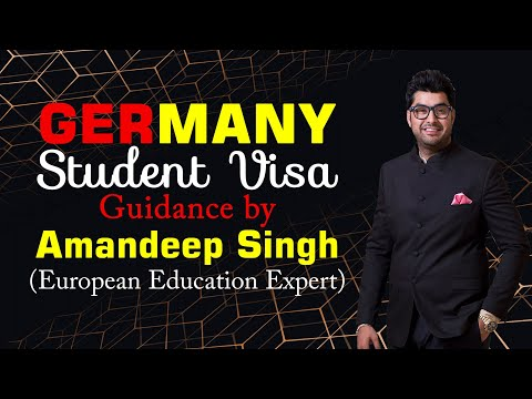 Germany Student Visa Guidance by Amandeep Singh ( European Education Expert )
