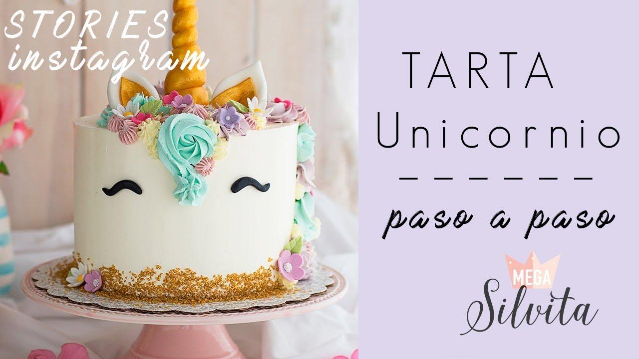 Tarta Unicornio Paso A Paso Receta Instagram Megasilvita Tienda Y Blog