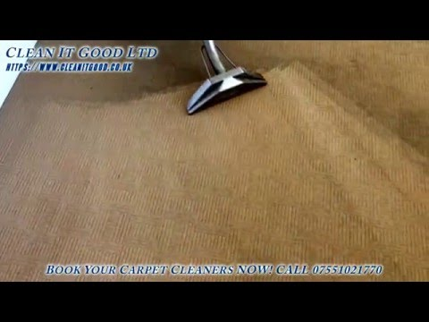 Professional Carpet Cleaners From Clean It Good Ltd
