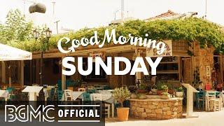 SUNDAY MORNING JAZZ: Autumn Positive Jazz \u0026 Bossa Nova Music For Wake Up, Study, Work