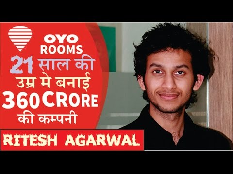 Ritesh Agarwal biography: The man behind OYO Rooms! SUCCESS STORY IN HINDI!