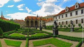 Сенат Парламента Чехии: павлины, утки, золотые карпы \ Praga Czech senat (+ Eng subt.)