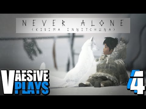 NORTHERN LIGHTS!!! | Never Alone #4