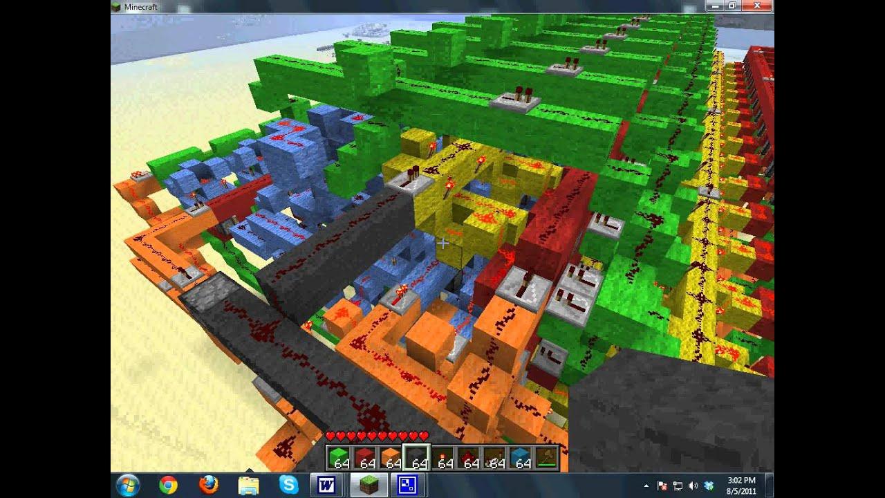 11 Bit minecraft CPU- Hack platform- 11x11x11H!