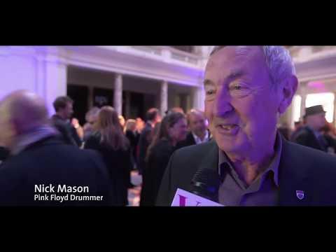 Pink Floyd Exhibition with Nick Mason, Brian May, Roger Taylor, Bob Geldof 2017