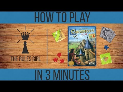 How to Play Carcassonne in 3 Minutes - The Rules Girl