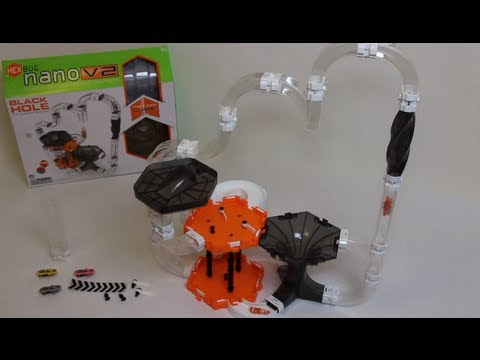 HexBug Nano V2 - The Cyclone - Black Hole - Detailed hands ...