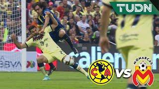 ¿Era penal? Falta sobre Henry | América 0 - 0 Morelia | Liga Mx - AP 19 - Semifinal | TUDN