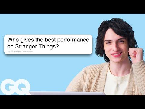 Finn Wolfhard Goes Undercover on Reddit, Twitter and Instagram   GQ