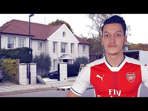 Mesut Özil's House Tour II Inside & Outside Design II